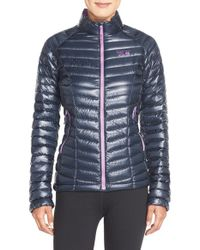 Mountain Hardwear Blue 'ghost Whisperer' Quilted Down Jacket