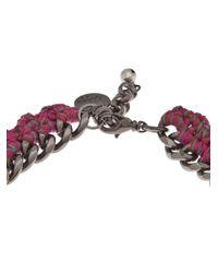 Venessa Arizaga | Pink La La Love Necklace | Lyst