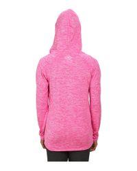 Under Armour - Pink Tech Long Sleeve Hoodie Twist - Lyst