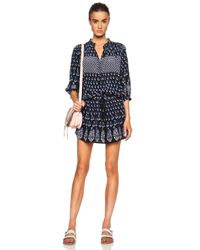 Ulla Johnson - Blue Bazaar Silk Dress - Lyst
