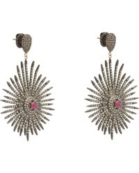 Carole Shashona | Metallic Soul Sparkler Drop Earrings | Lyst