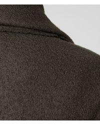 Allsaints Vana Coat In Khaki Natural Lyst