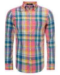 GANT Multicolor Birdie Madras Check Shirt for men