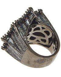 M.c.l - Black Sapphire Star Ring - Lyst