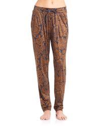 Hanro - Brown Mona Lisa Long Pants - Lyst