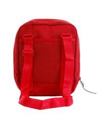 Y-3 - Day Report Logo Neckbag Red for Men - Lyst