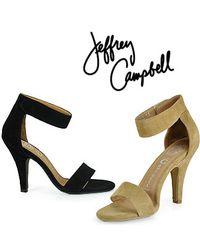 Jeffrey Campbell - Pink Hough - Ankle Strap Sandal - Lyst