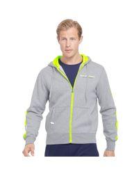 Ralph Lauren | Gray Cotton-blend-fleece Hoodie for Men | Lyst
