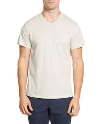 O By Oscar De La Renta | Gray V-neck T-shirt for Men | Lyst