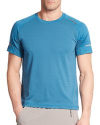 Porsche Design - Blue Bs Tee for Men - Lyst