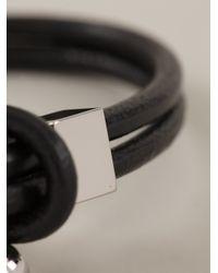 Givenchy | Black Bracelet for Men | Lyst