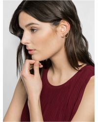 BaubleBar - Metallic Shackle Ear Crawlers - Lyst
