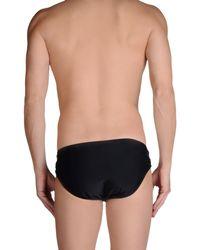 Patrizia Pepe - Black Bikini Bottoms for Men - Lyst