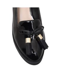 Carvela Kurt Geiger Black Lava Block Heeled Loafers