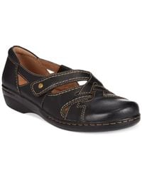 Clarks - Black Collection Women'S Evianna Peal Flats - Lyst