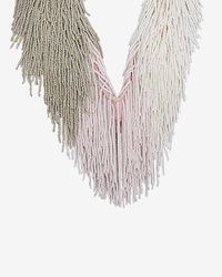 Mignonne Gavigan | Natural Petite Marcel Beaded Fringe Necklace | Lyst