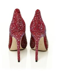 Moda In Pelle Pink Lucina High Occasion Shoes