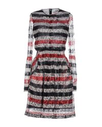 Ainea - Blue Short Dress - Lyst