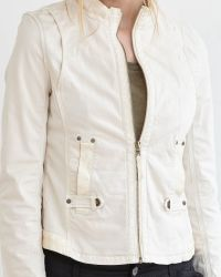 Marrakech | Natural Lou Stretch-Cotton Utility Jacket | Lyst