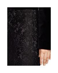Ralph Lauren Black Label - Black Fallon Lace Pencil Skirt - Lyst