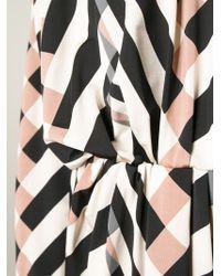 Lanvin | Black Graphic Print Dress | Lyst