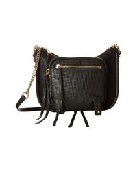 She + Lo | Black Rise Above Zip Crossbody | Lyst