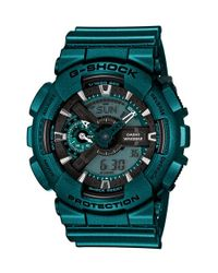 G-Shock Blue G-shock Xl Resin Ana-digi Watch for men