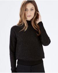 Parker - Black Gwendolyn Sweater - Lyst