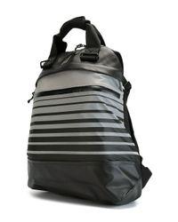 PUMA Black X Icny Striped Backpack for men