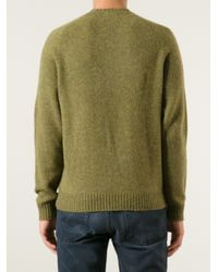 Brooks Brothers - Green Wool Sweater for Men - Lyst