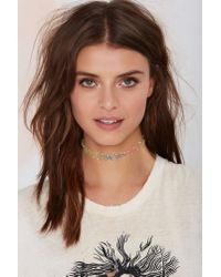Nasty Gal | Multicolor Get Tatted Choker & Bracelet Set - Rainbow | Lyst