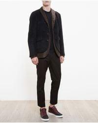Kolor - Black Wool Jacket - Lyst