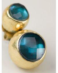 Vaubel | Green Two Stone Earrings | Lyst