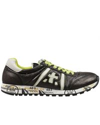 Premiata | Black Lucy Sneakers Leather for Men | Lyst