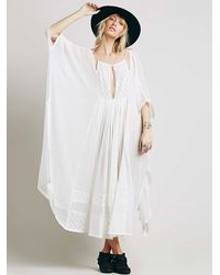 Free People | Natural Endless Summer Womens Love Me Leave Me Maxi | Lyst