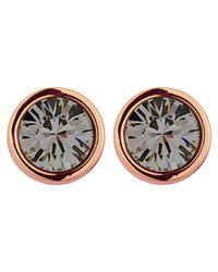 Dyrberg/Kern | Metallic Dyrberg/kern Noble Earpost Earrings | Lyst