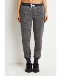 Forever 21 | Gray Classic Heathered Joggers | Lyst