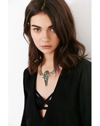 Urban Outfitters | Metallic Triangle Passageway Necklace | Lyst