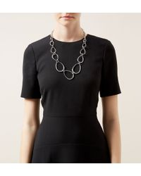 Hobbs - Metallic Lucy Necklace - Lyst