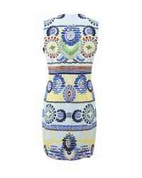 Peter Pilotto   White Stamp Dress   Lyst