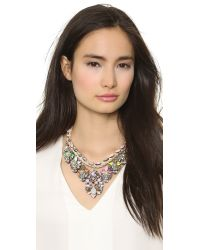 Shourouk - Multicolor Princess Necklace Chalk - Lyst