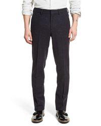 Bonobos | Blue Slim Fit Wool Trousers for Men | Lyst