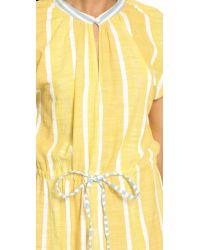 Ace & Jig Yellow Voyage Mini Dress - Sundial