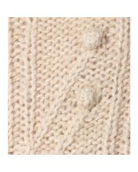 Isabel Marant Natural Gracie Mohair And Alpaca-blend Sweater