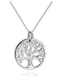 Aeravida | Metallic Mystic Tree Of Life Branches .925 Sterling Silver Necklace | Lyst