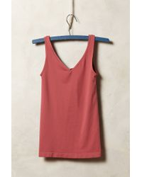 Anthropologie | Purple Reversible Seamless Tank | Lyst