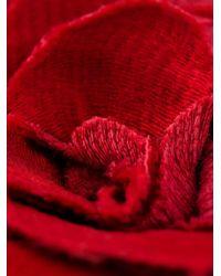 Lanvin | Red Flower Brooch | Lyst