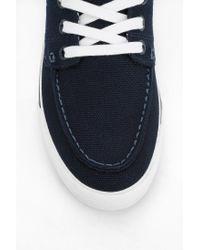 Urban Outfitters - Blue Lacoste Keel Boat Shoe Sneaker - Lyst