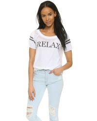 Chaser Relax Tee - White
