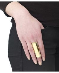 Arme De L'Amour | Metallic Doll Sphere Ring | Lyst